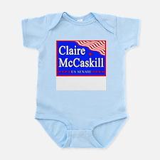 MO Claire McCaskill US Senate Infant Creeper