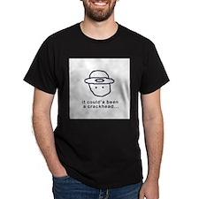 Leprechaun Black T-Shirt