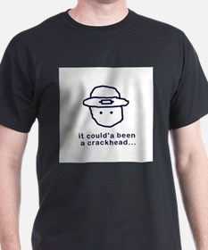 Leprechaun Black T-Shirt