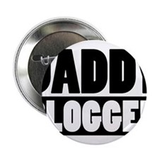 """Daddy Blogger Stacked 2.25"""" Button"""