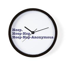Heep-Hop-Anonymous Wall Clock