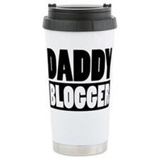 Daddy Blogger Stacked Travel Mug
