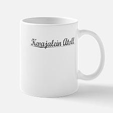 Kwajalein Atoll, Aged, Mug