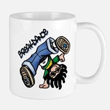 Breakdance Large Mugs