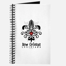New Orleans Fleur Heart Journal