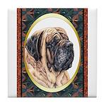 Mastiff Dog Designer Tile Coaster 3