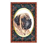 Mastiff Dog Designer Postcards(8) 3