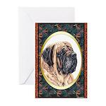 Mastiff Designer Greeting Cards(6) 3