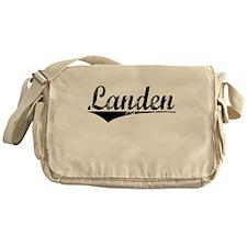 Landen, Aged, Messenger Bag