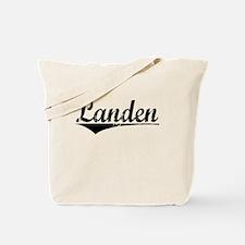Landen, Aged, Tote Bag