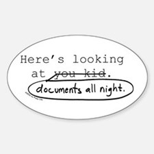 Markup: Here's Looking at You... Decal