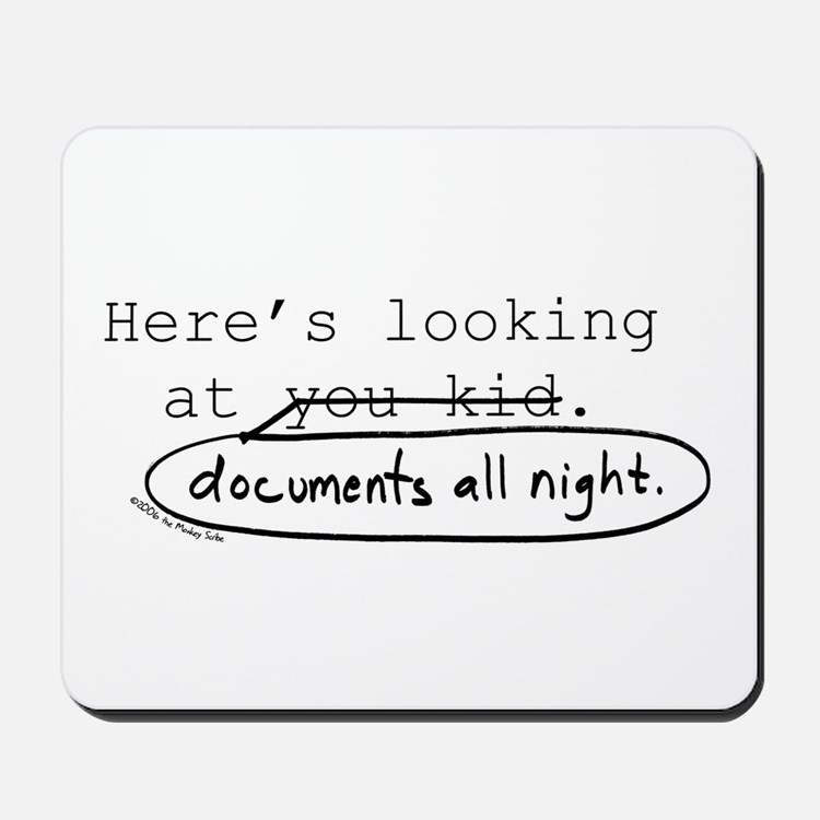 Markup: Here's Looking at You...Mousepad