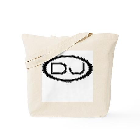 DJ Oval Tote Bag