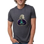 FIN-feather-mask3.png Mens Tri-blend T-Shirt