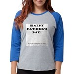 fathers-day2.png Womens Baseball Tee