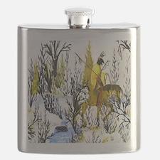 Winter Warrior Flask