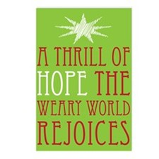 A Thrill of Hope Christmas Postcards (Package of 8