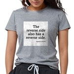FIN-reverse-side-front.png Womens Tri-blend T-Shir