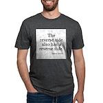 FIN-reverse-side-front.png Mens Tri-blend T-Shirt