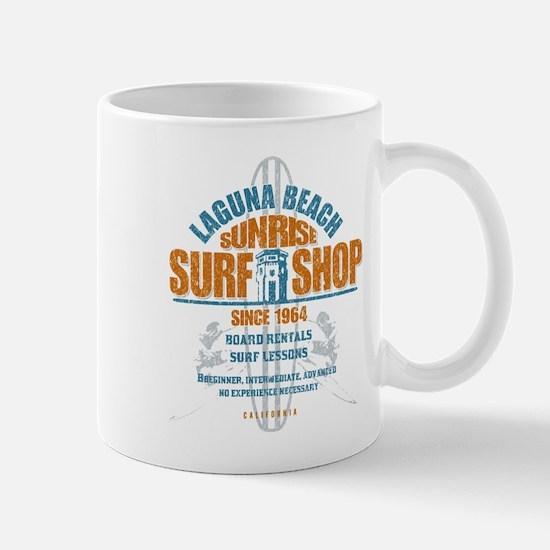 Laguna Beach Surf Shop Mug