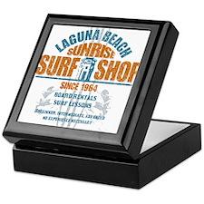 Laguna Beach Surf Shop Keepsake Box