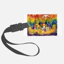Born In His Heart Luggage Tag