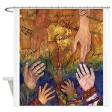 Family Treasures Shower Curtain