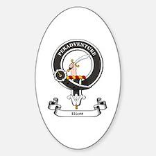 Badge-Eliott [Roxburgh] Sticker (Oval)
