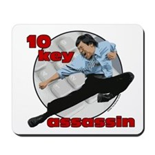 10 Key Assassin Mousepad