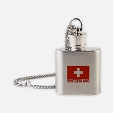 swiss-flag.png Flask Necklace