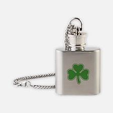 shamrock.png Flask Necklace