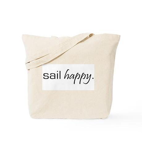 Sail Happy Tote Bag