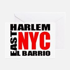 East Harlem NYC Greeting Cards (Pk of 10)
