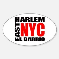 East Harlem NYC Oval Decal