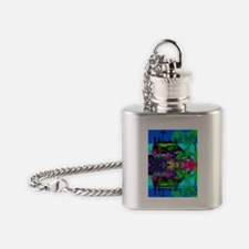 Christian Cross Flask Necklace