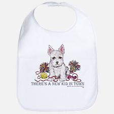 New Kid Westie Puppy Bib