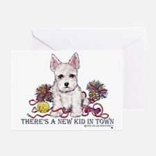 New Kid Westie Puppy Greeting Cards (Pk of 10)