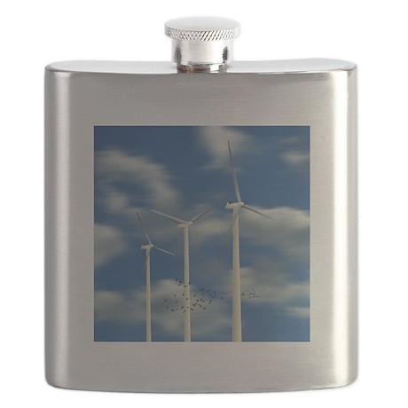 Wind Turbines Flask