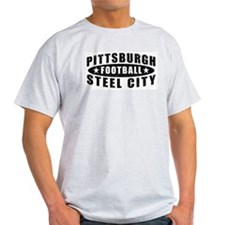 Steel City Football Ash Grey T-Shirt
