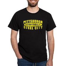 Steel City Football Black T-Shirt