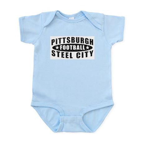 Steel City Football Infant Creeper