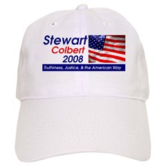 Stewart / Colbert for Preside Cap