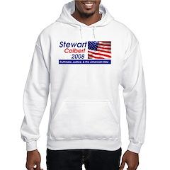 Stewart / Colbert for Preside Hoodie