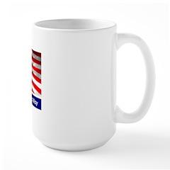 Stewart / Colbert for Preside Large Mug