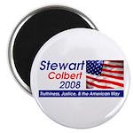 Stewart / Colbert for Preside Magnet
