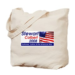 Stewart / Colbert for Preside Tote Bag