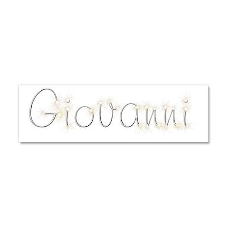 Giovanni Spark 10x3 Car Magnet