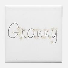 Granny Spark Tile Coaster