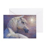 Arabian horse christmas Greeting Cards (10 Pack)