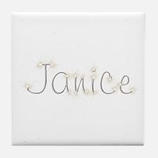 Janice Spark Tile Coaster
